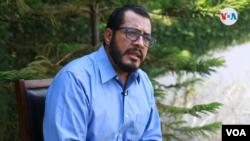 El líder opositor Félix Maradiaga señala a la VOA que de realizarse un circo electoral en 2021, Ortega sería desconocido por la comunidad internacional. [Foto Houston Castillo, VOA].
