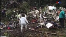 Avião cai com equipa de futebol brasileira