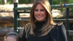 Phu nhân Melania Trump bận việc gì, không đi thăm Việt Nam?