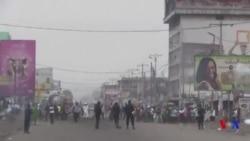 Au moins six morts dans les marches interdites à Kinshasa (vidéo)