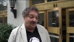 Российский писатель Дмитрий Быков в Нью-йоркском университете