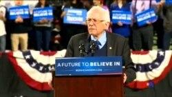 2016-03-27 美國之音視頻新聞: 美國民主黨總統初選中桑德斯大勝三州