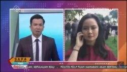 Laporan Langsung VOA untuk KompasTV: Iftar di Gedung PUtih
