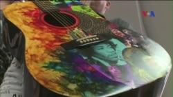 Đàn guitar khơi nguồn sáng tạo nghệ thuật ngoài âm nhạc