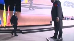 Blatter y Platini: Suspendidos por ocho años