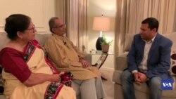 Interview Of JyotiPrakash Basu and Purobi Dutta