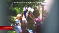 Công an chặn tín đồ vào Quang Minh Tự
