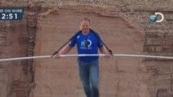美國鋼索王成功橫越大峽谷