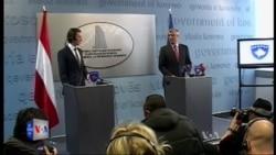 Ministri i jashtëm austriak viziton Kosovën