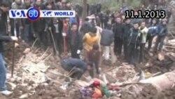Đất lở tại Vân Nam, Trung Quốc (VOA60)