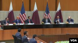 سومین دور نشست گفتوگوی استراتژیک میان امالات متحده و قطر روز دوشنبه ۲۴ شهریور در واشنگتن برگزار شد.