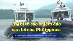 TQ bị tố cáo chiếm đảo san hô của Philippines