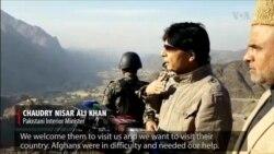 Pakistan Interior Minister Announces Afghan Visa Program