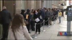 Рівень безробіття у США впав до рекордного за 9 років мінімуму. Відео