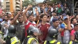 Autoridades venezolanas impiden marcha opositora