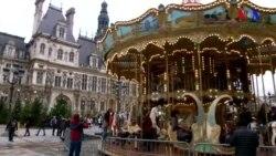 Parislilər bayram alışverişinı gec etməli olub