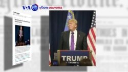 VOA60 Elections - Trump Cruises to Victory in Nevada Republican Caucus