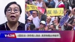 焦点对话:《国安法》剥夺港人自由 美祭制裁 台伸援手