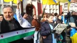 У Лондоні посольство Росії пікетували українці та сирійці