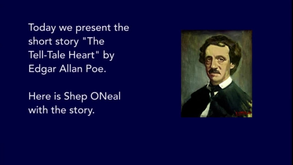 an overview of the short story the tell tale heart by edgar allan poe Edgar allan poe's short story 'the tell-tale heart' is rich with possibilities for the classroom this lesson provides you with essay questions to.