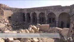 战地视频:伊军攻克摩苏尔城内历史圣地