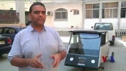加沙地带学生研发出太阳能汽车