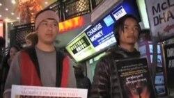 流亡藏人紀念自焚藏人
