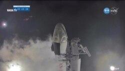 SpaceX'in Crew Dragon Kapsülü Dört Astronotu Daha Uzaya Taşıdı
