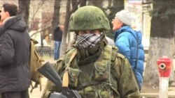 Russians in Crimea, Intentions Elsewhere Are Questioned