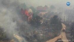 Isparta'da Yangın Yerleşim Yerlerinde