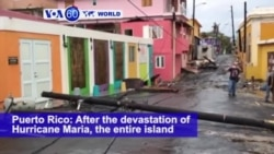 VOA60 World PM - Hurricane Maria Knocks Out Power, Floods Puerto Rico