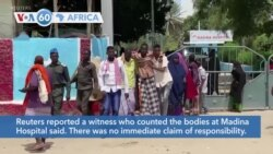 VOA60 Africa - Somalia: At least 15 people killed in a suicide bombing in Mogadishu