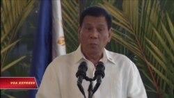 Tổng thống Philippines lại dọa cắt quan hệ với Mỹ
