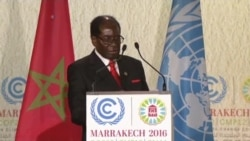 Mugabe: Climate Change Life And Death Issue