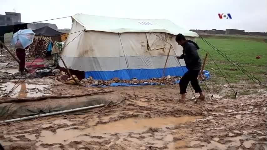 Սիրիացի փախստականների դժվարությունները
