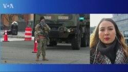 В понедельник спецслужбы вновь заблокировали Капитолий из-за угрозы безопасности