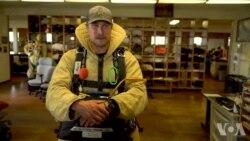 空降野火: 跳伞灭火员的生活