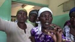 Des femmes manifestent à la morgue après les violences électorales au Kenya (vidéo)