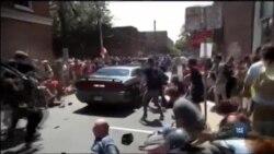 Подробиці трагічних подій в американському місті Шарлотсвілль. Відео