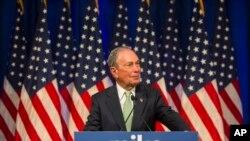 Michael Bloomberg es el más reciente contendor demócrata en lanzar su candidatura de cara a las elecciones presidenciales de 2020.