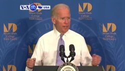 VOA60 America - Biden silent on his possible run for President - 09-03