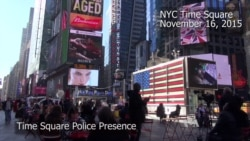 Security Tightened at NY Times Square After IS Threat