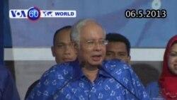 Liên minh Thủ tướng Malaysia đương nhiệm thắng cử (VOA60)