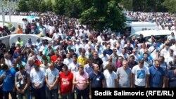 Srebrenica - Potočari - Religious ceremony for the victims of Srebrenica genocide 1995 - Jully 11th 2021