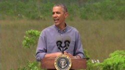 Obama: Climate Change Cannot Be Denied