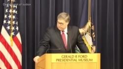 美司法部长:美国已过度依赖中国商品服务