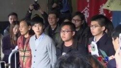 香港佔領旺角案黃之鋒等人再被判刑