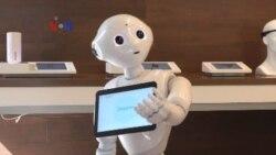 Uji Coba Robot untuk Ritel