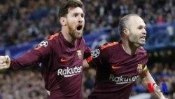 VOA Sports du 21 février 2018 : Chelsea et le Barça se neutralisent