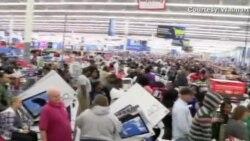 Amerikalılar Alışveriş Rekoru Kırdı